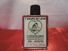1/2 oz 7 Gotas De Amor - 7 Drops Of Love