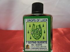 1/2 oz 7 Gotas De Suerte - 7 Drops Of Luck
