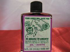1/2 oz Te Odiara Tu Amante - Your Lover Will Hate You