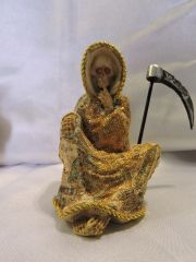 Santa Muerte De Dinero No Hablar - Money Holy Death Speak No Evil