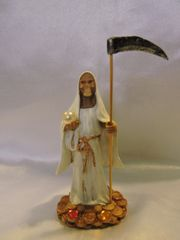 Santa Muerte Blana - White Holy Death