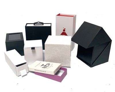 rigid boxes watch box top and bottom box chipboard box drawer type luxury packaging