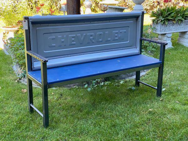 Vintage Chevrolet Tailgate Bench
