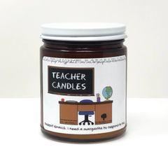 Teacher Candles ~ 10 oz Soy Wax Candles