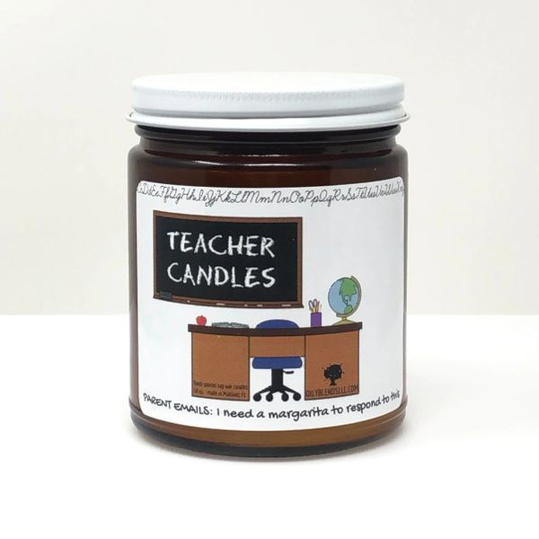 Teacher Candles ~ 10 oz Soy Wax Candles