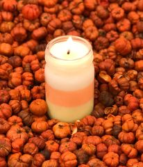 Candy Corn Soy Wax Candle