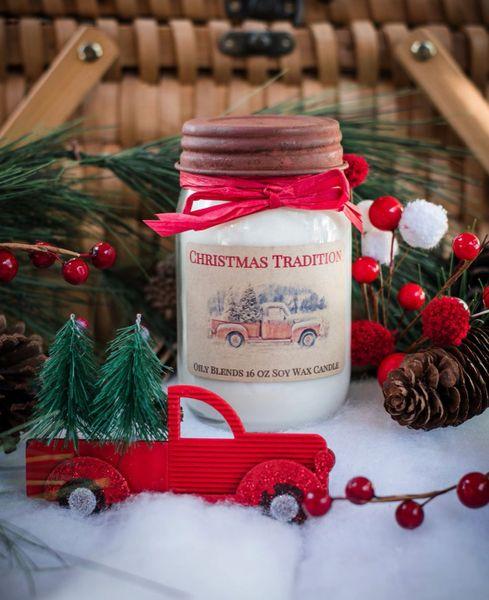 Jumbo Christmas candles
