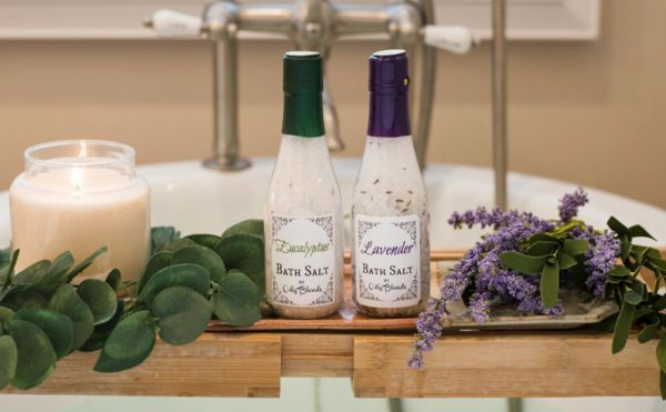 Essential Oil and Herb Luxury Bath Salts