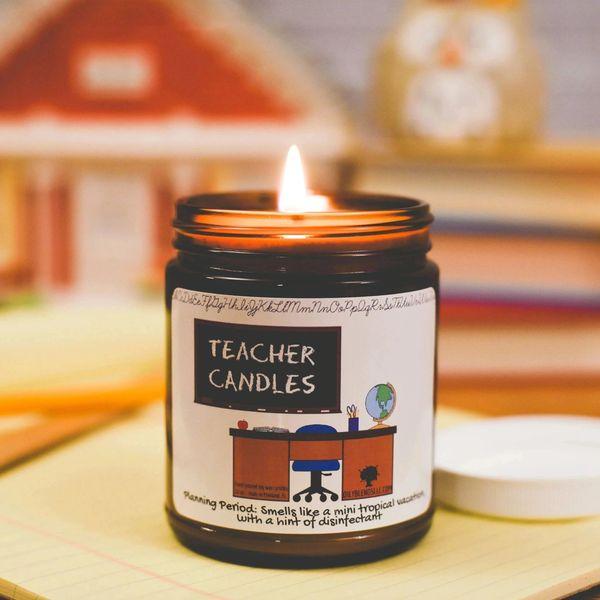 Teacher Candle Line
