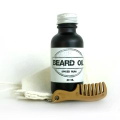Spiced Rum Beard Oil Gift Set