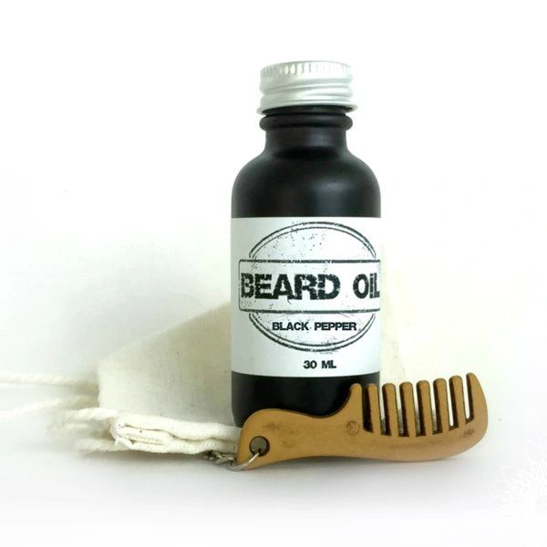 Black Pepper Beard Oil Gift Set