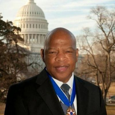 John Robert Lewis was an American politician and civil-rights leader.