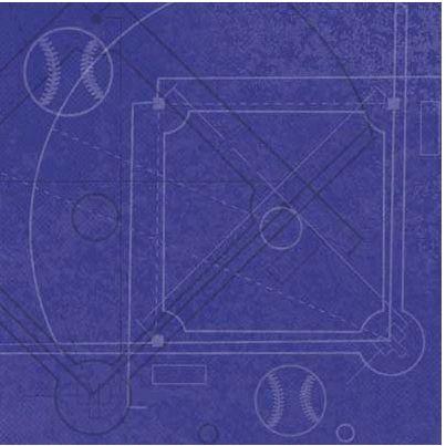 Diamond Diagram Blue 12x12 Paper