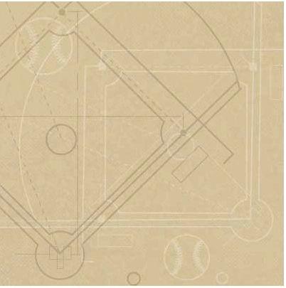 Diamond Diagram Tan 12x12 Paper