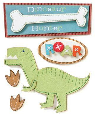 Dinosaur Stacked Stickers