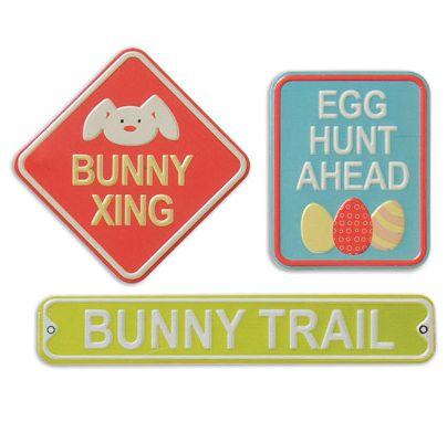 Easter Metal Signs
