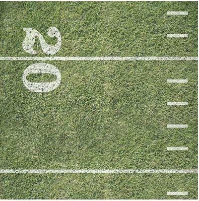 Football Field 12x12 Paper