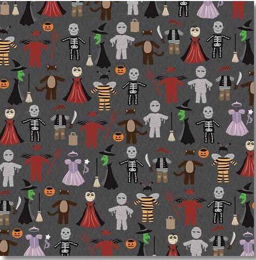 Halloween Costumes 12x12 Paper