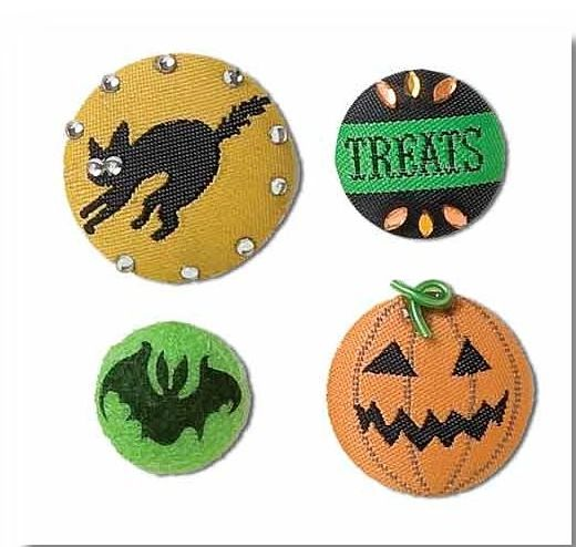 Halloween Deco Brads