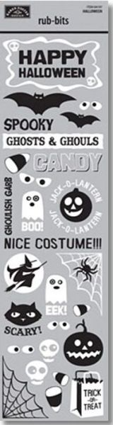 Halloween Rub-Bits