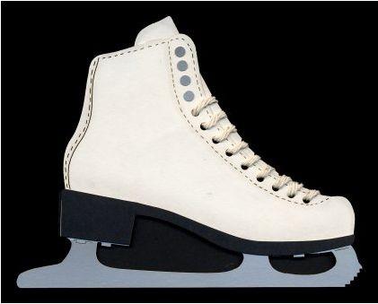 Ice Skate Die-Cut
