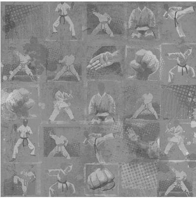Karate 12x12 Paper