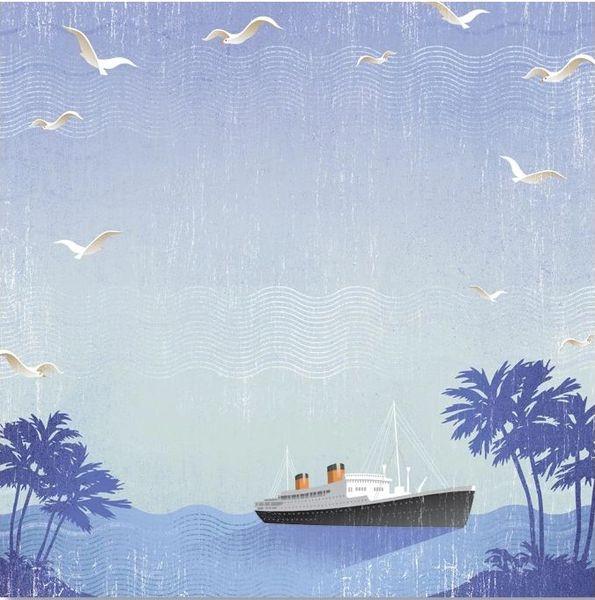 Let's Sail 12x12 Paper