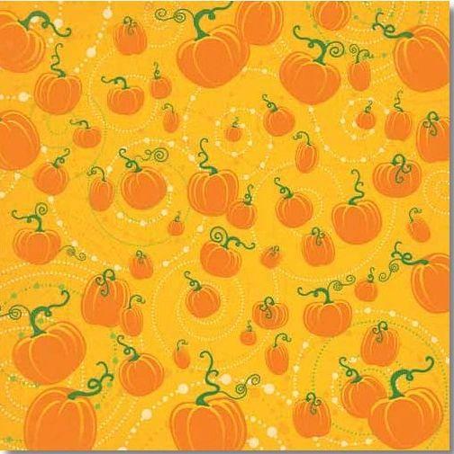"""Magic Pumpkins 12"""" x 12"""" Paper"""
