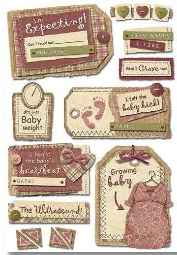 Maternity Cardstock Sticker