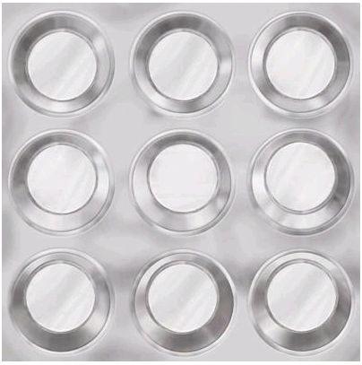 Muffin Tin 12x12 Paper