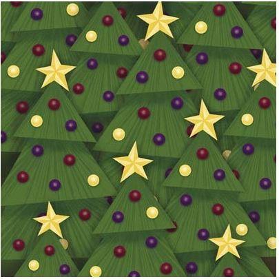 O Christmas Tree 12x12 Paper
