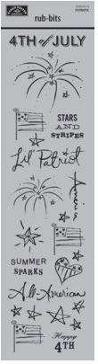Patriotic Rub-Ons