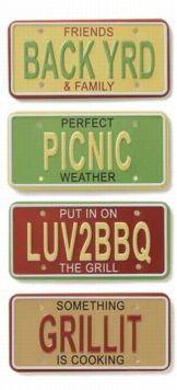 Picnic License Plates