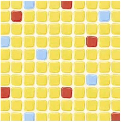 Pool Tile 12x12 Paper