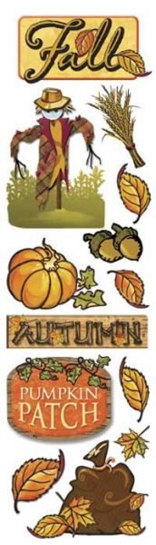 Autumn Clearly Sticker
