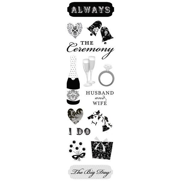 The Big Day Clearly Sticker