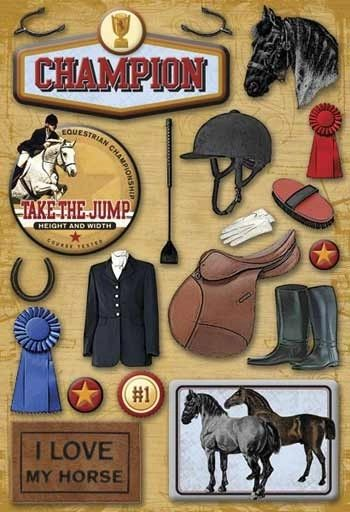 Equestrian Sticker