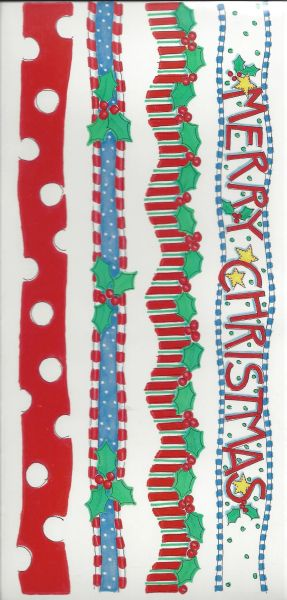 Christmas Borders Sticker