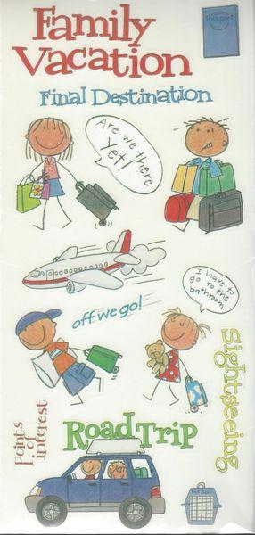 Vacation Kids Sticker