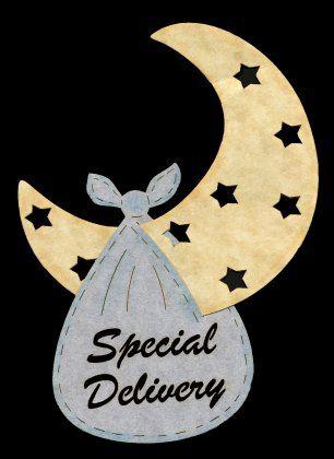Special Delivery Laser Die-Cut