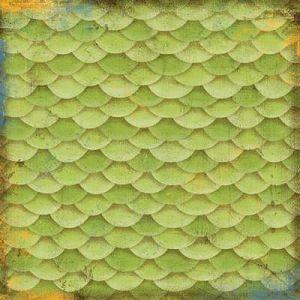 Dragon Scales 12x12 Paper