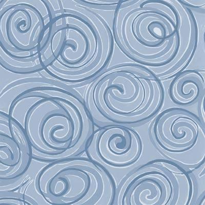 Ocean Swirl 12x12 Paper