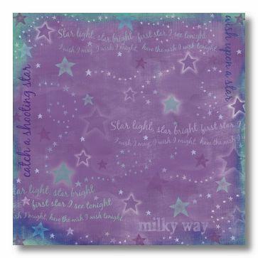 Starry Night 12x12 Paper