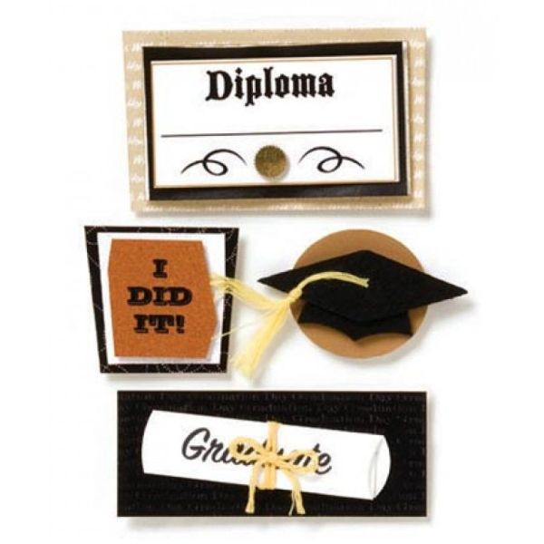 Graduation Stacked Stickers