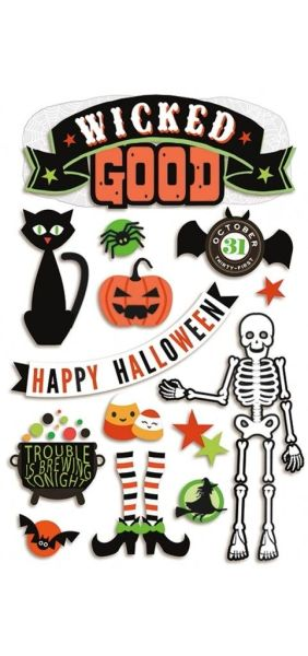 Wicked Good 3D Sticker