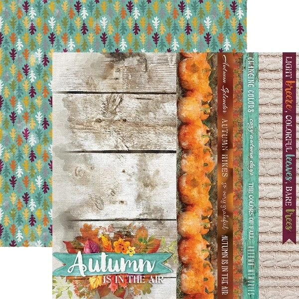 Autumn Air 12x12 Double Sided Paper
