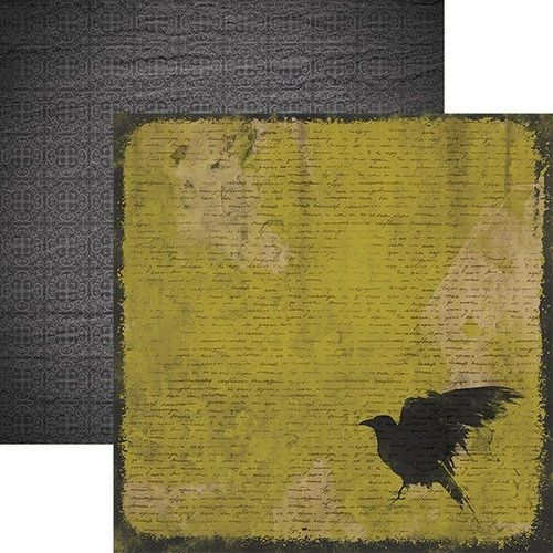 The Raven 12x12 Double Sided Paper