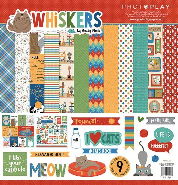 Whiskers 12x12 Collection Pack