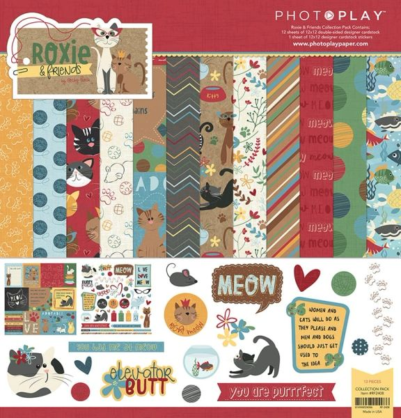 Roxie and Friends 12X12 Collection Pack