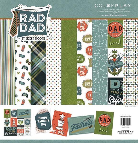 Rad Dad 12X12 Paper Pack